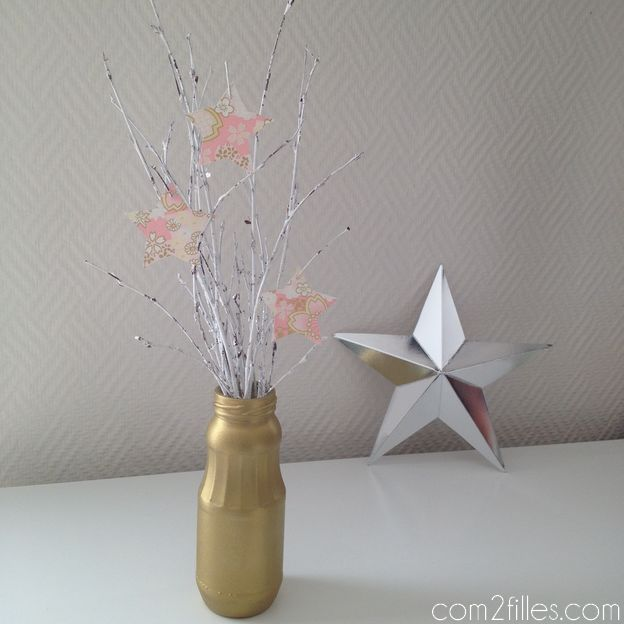 DIY deco de noel - arbre upcycling