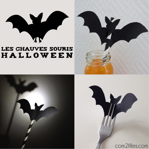 id e halloween une chauve souris en papier mutli usages. Black Bedroom Furniture Sets. Home Design Ideas