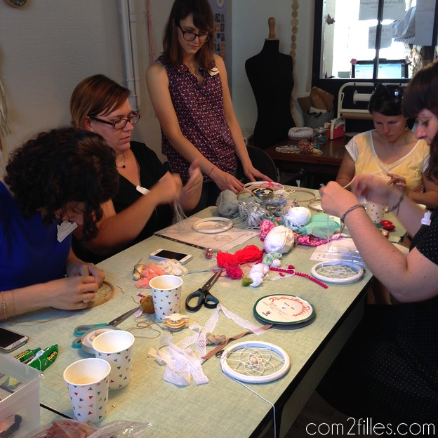 atelier blogueuses craft party