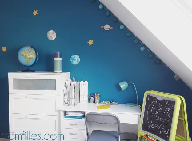 d co de chambre enfant un univers de plan tes pour petit gar on. Black Bedroom Furniture Sets. Home Design Ideas