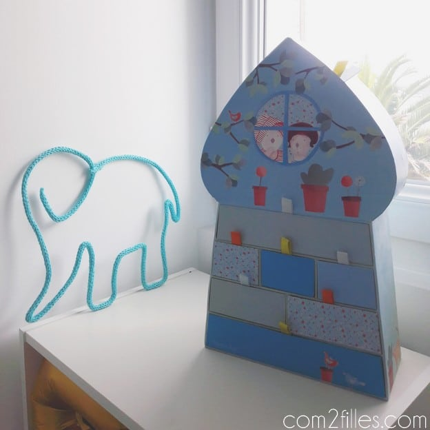 Tricotin - elephant - decoration enfant