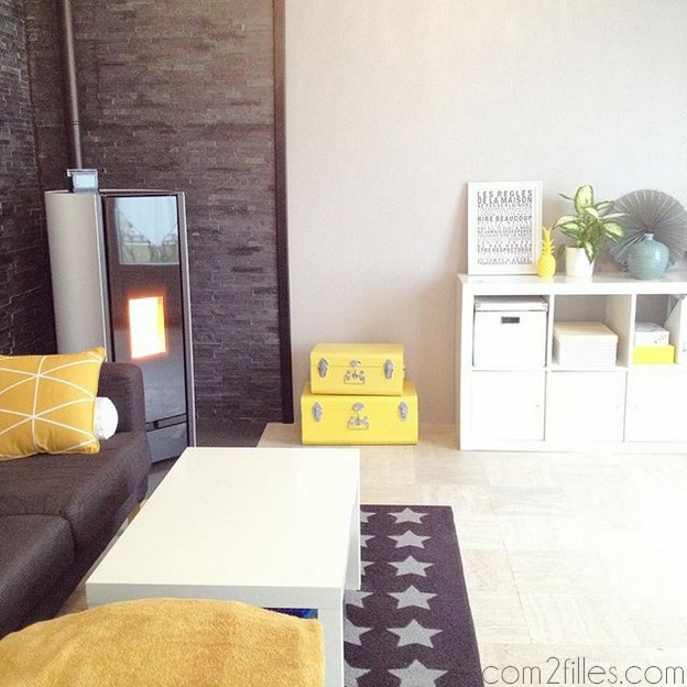 petite visite de mon home sweet home. Black Bedroom Furniture Sets. Home Design Ideas