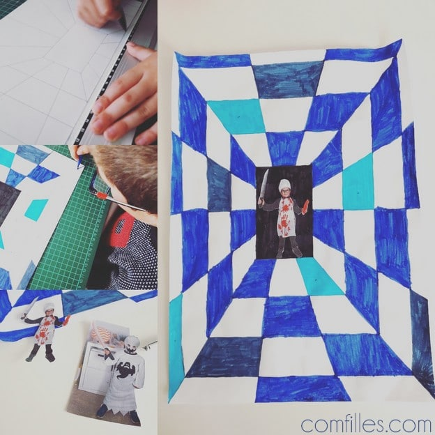 DIY illusion d optique - primaire - halloween