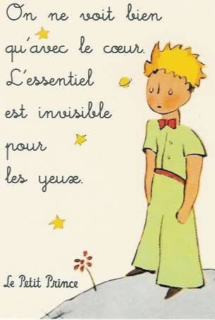 Citation - Le petit prince