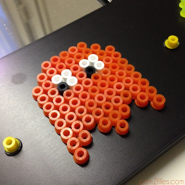 pac-gommes pac-man perles hama