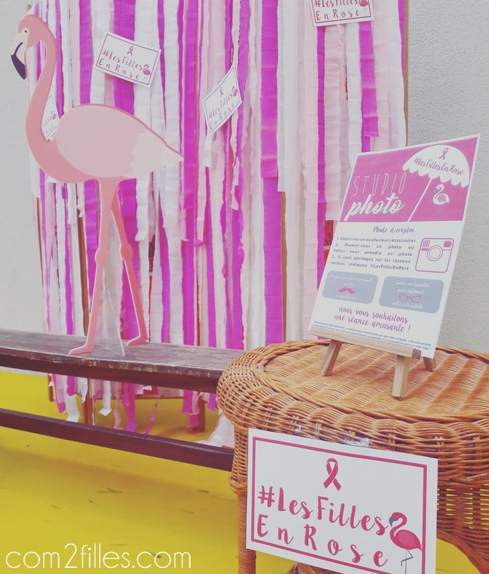 DIY - photobooth les filles en rose - vide dressing