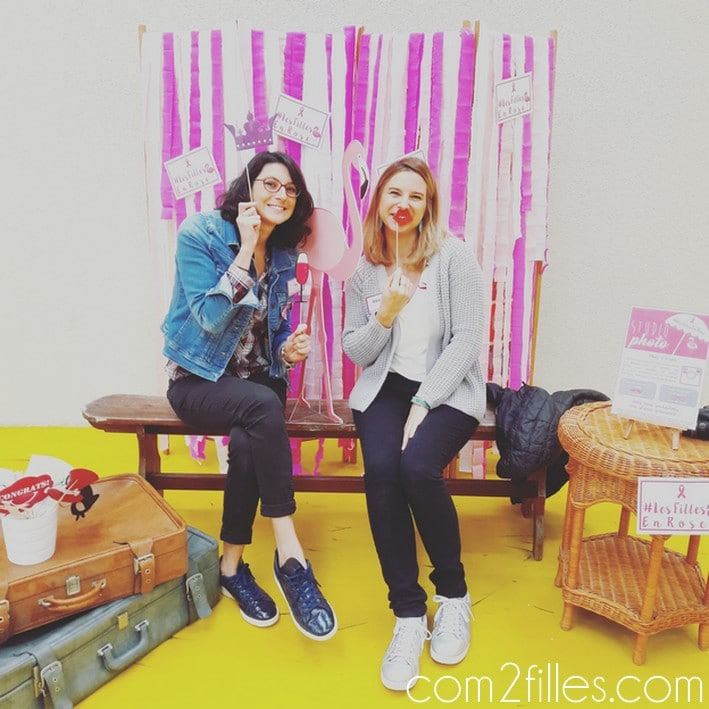 photobooth les filles en rose - vide dressing
