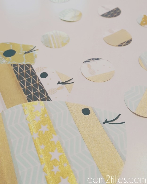 Poissons d avril - masking tape