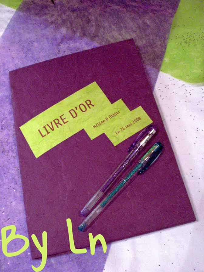 mariage livre or