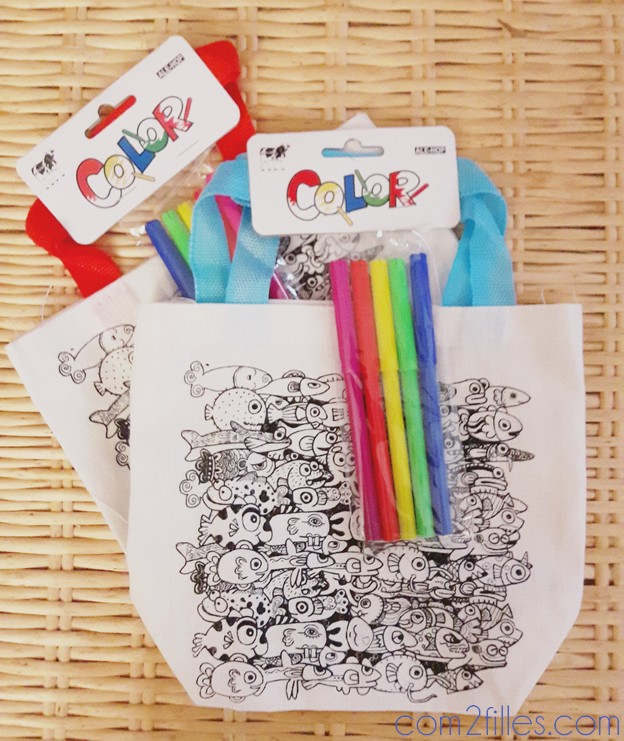 coloriage - sac a colorier - ale-hop