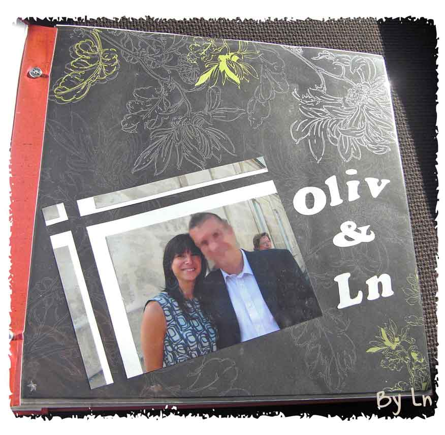 Album photo mariage DIY