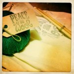 kit tricot peace and wool