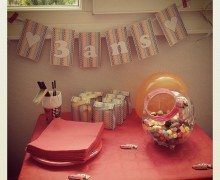sweet table 3 ans - anniversaire cars