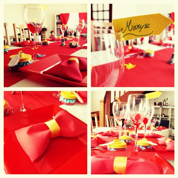 D coration de table id es d co anniversaire cirque - Idee de decoration de table pour anniversaire ...