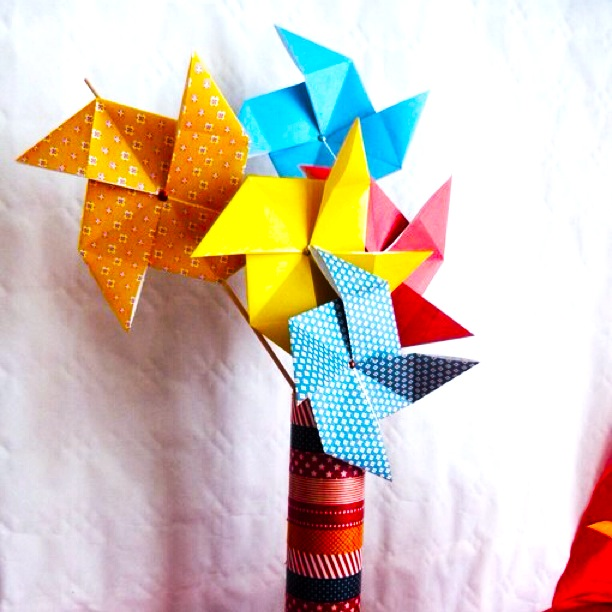 Origami Decoration Table Bapteme