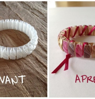 Customisation d'un bracelet imprimé en 3D