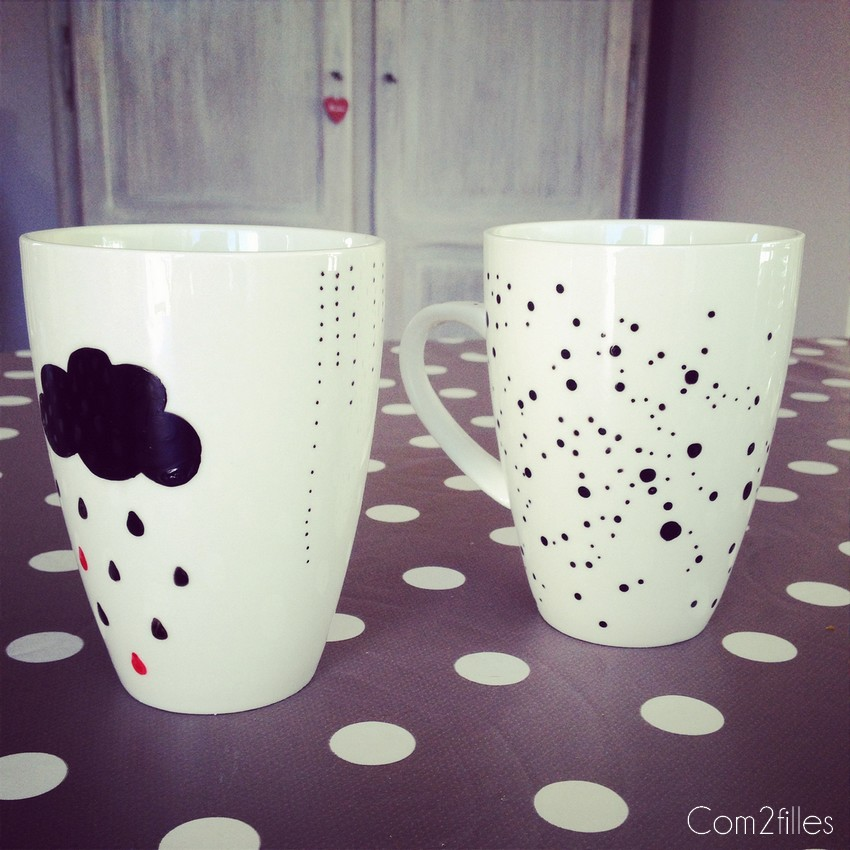 Mug customisation DIY