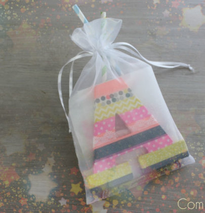 {Idée kdo enfant} Une pochette surprise girly