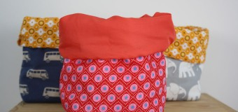 Couture : jolis tissus et vide-poches home-made {code promo Inside}