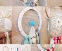 attrape-reves DIY Craft party2