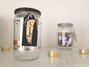 Happiness jar DIY