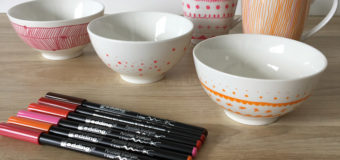 DIY : customiser sa vaisselle en porcelaine