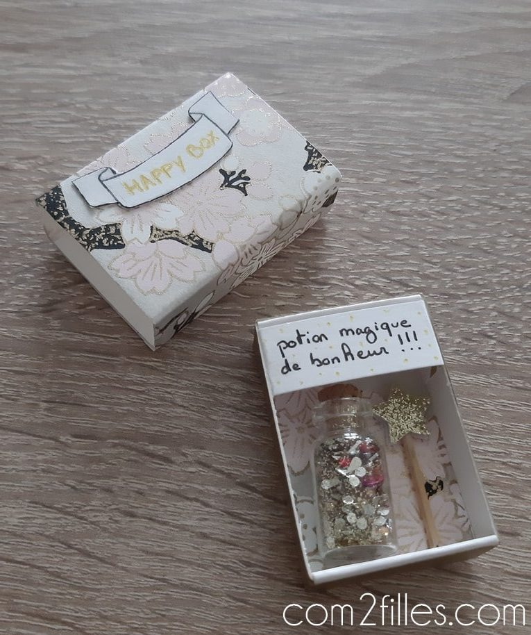 diy-boite allumettes-message-happy box