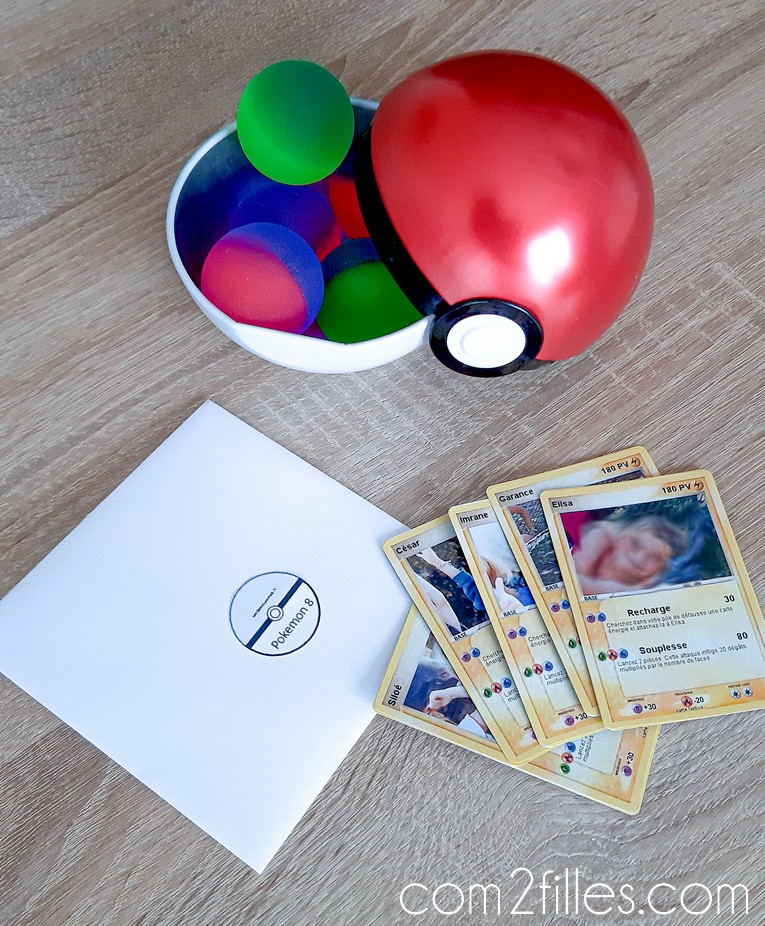 Carte pokemon personnalise